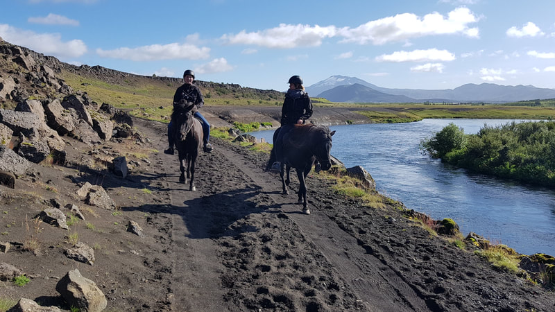 Our daytour ride in south Iceland, Under the Volcano.