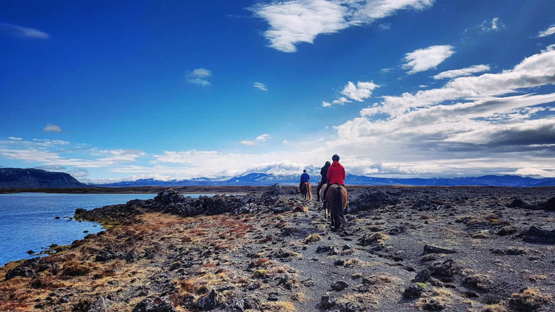 Long riding tour in Iceland